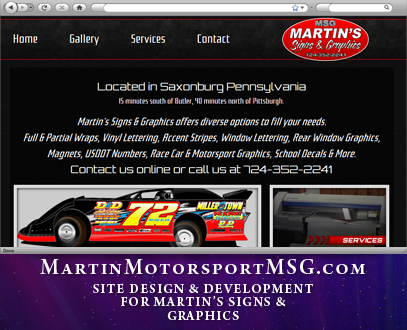Martin's Signs and Graphics