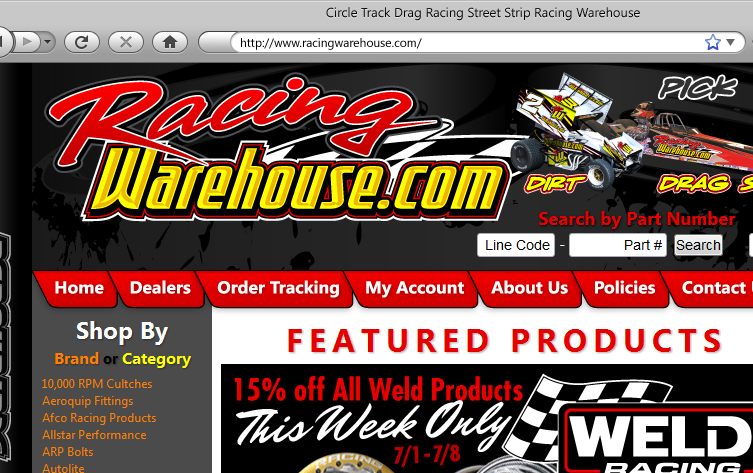 Racing Warehouse